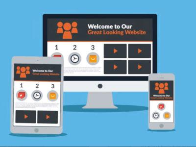 Responsive Bridge Club Website Design