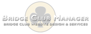 Bridge Club Website Design and Services